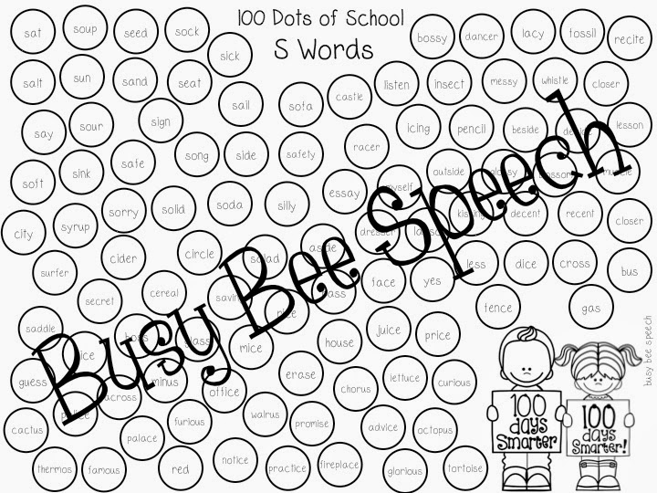 100 DOTS of School with a Freebie!