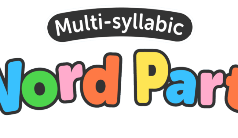 Appy Weekend! Multi-Syllabic Word Party & Giveaway
