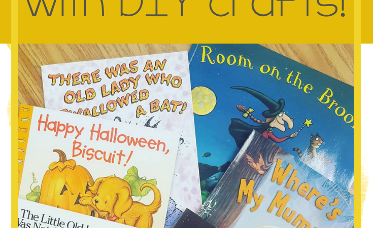 Halloween Books for Speech Therapy with DIY Crafts