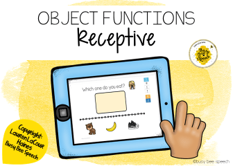 object functions for speech therapy
