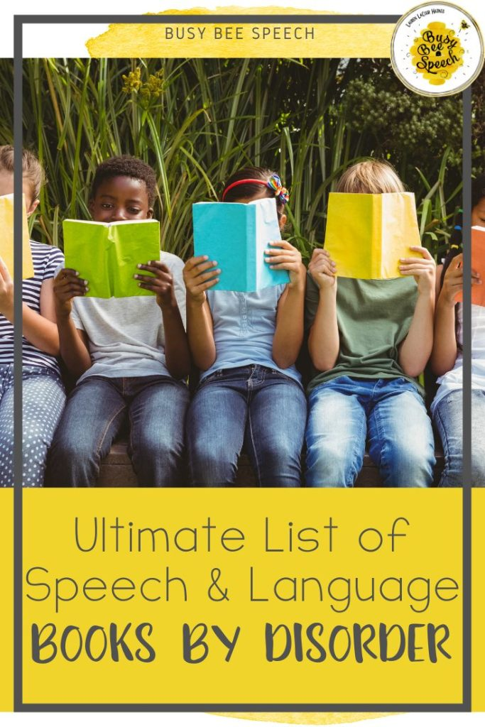 Ultimate List of speech and language books by disorder