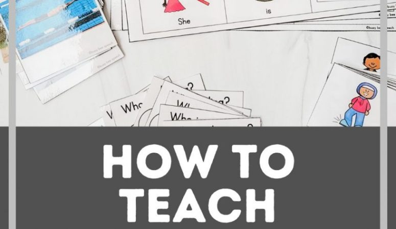 How to teach action verbs in preschool speech therapy