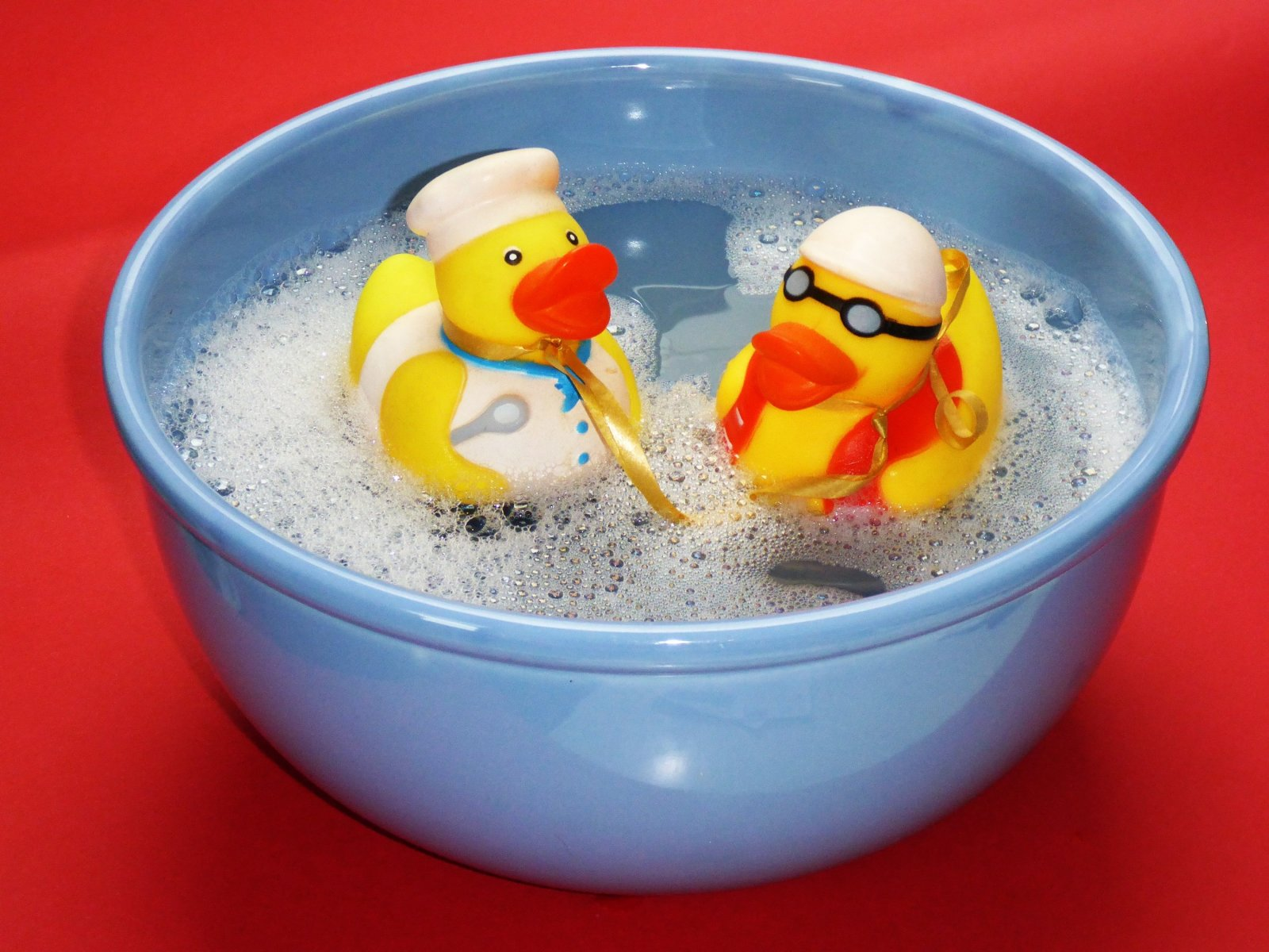 Bath time - science play - early years