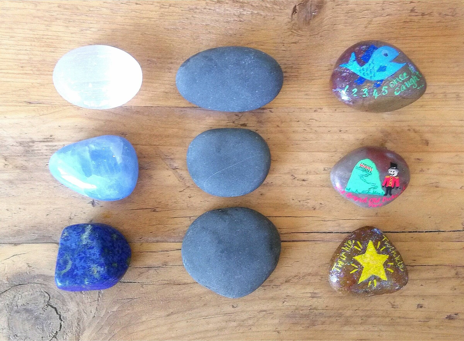 Fun 5 for Friday. Finger Gym. Fine motor activities. Fine motor skills. Language skills. Social play. Small world. Suitcase play. Stacking. Containing. Sorting. Enclosing. Schema. Natural. Wooden toys. Grimms. Fabric. Puppets. Gems. Stones. Books. Stories. Reading.