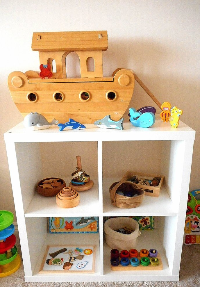 Shelfie - early years - toddler play - Grapat - Grimms - Wooden Toys