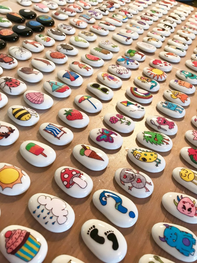 Meet the Mum Behind the Maker - Our Story Stones Rock - story stones - imaginative play - communication - language - story telling - story props