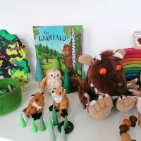 Toy Shelf Rotation - Gruffalo Woodland
