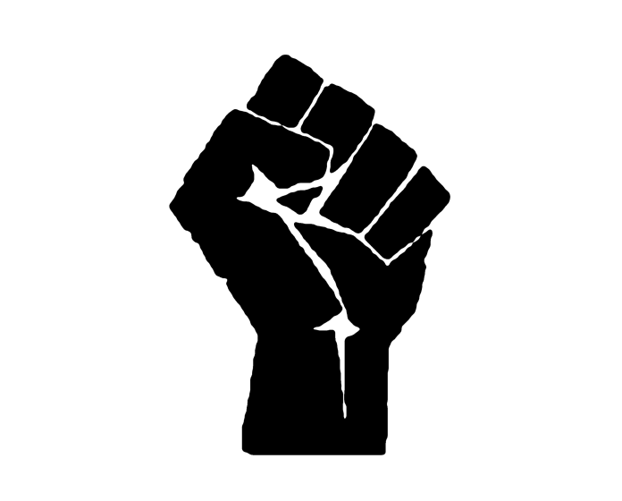 black power fist