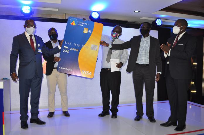Centenary Bank launches CenteVisa prepaid card for cashless payments