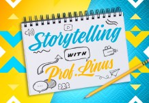 MTF's new Storytelling Masterclass series with Professor Linus Abraham