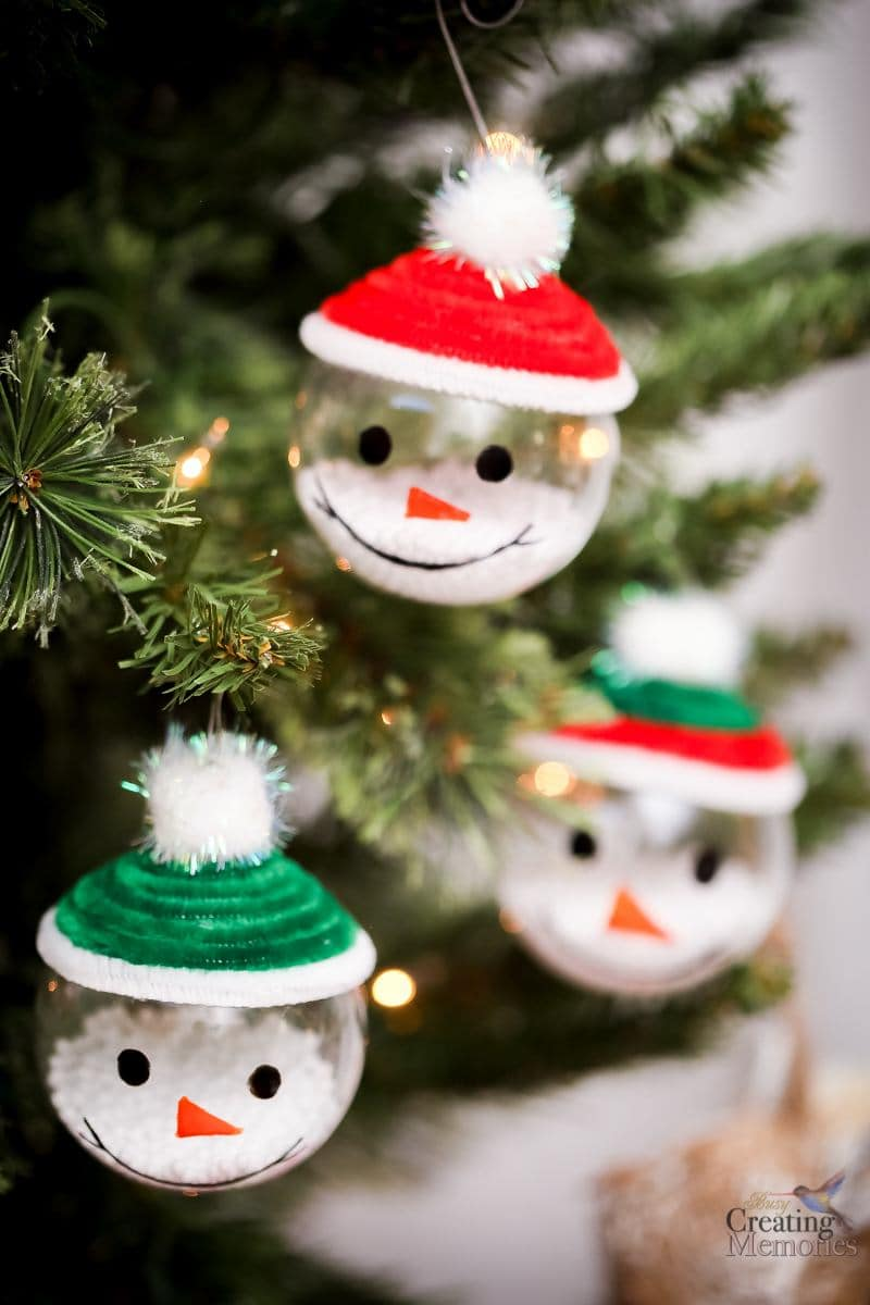 Snowman Ornaments For Christmas