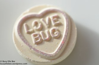 Love Bug heart sweet Valentine's day candy
