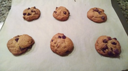 Finished product, cookies chilled 5 hours
