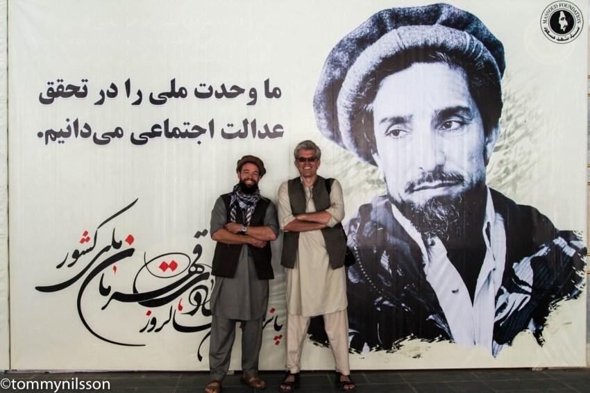 Chris, me and Massoud