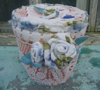 Recycled crafts and deoupage ideas: shabby chic craft ...