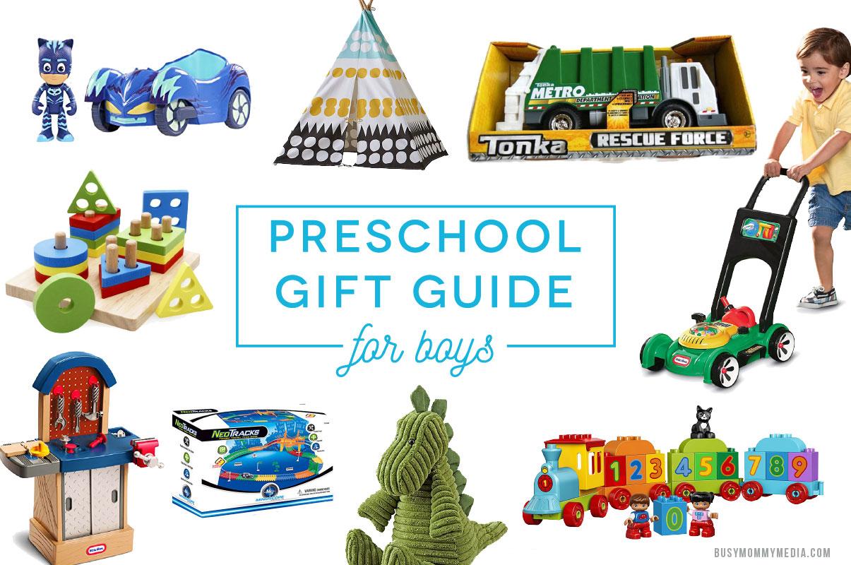 preschool gift guide for