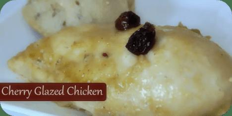 Cherry Glazed Chicken / Busy Mom's Helper