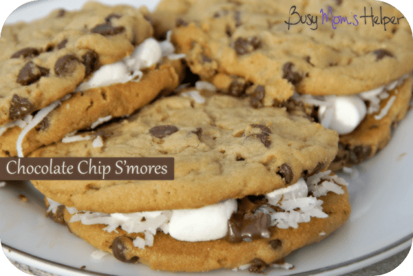 Chocolate Chip Smores / Busy Mom's Helper