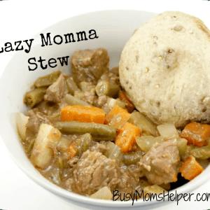 Lazy Momma Stew / Busy Mom's Helper