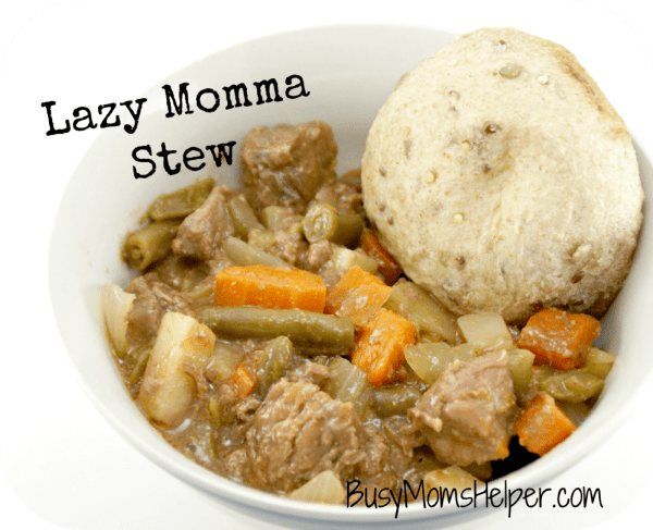 Lazy Momma Stew / Busy Mom's Helper