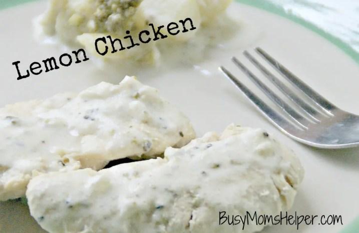 Lemony Greek Chicken / Busy Mom's Helper