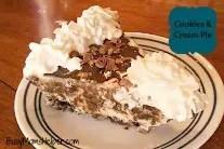 Cookies & Cream Ice Cream Pie / Busy Mom's Helper