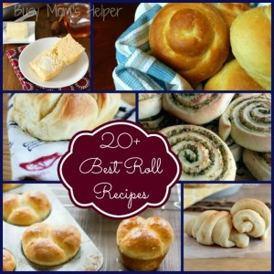 20+ of the Best Roll Recipes / by Busy Mom's Helper