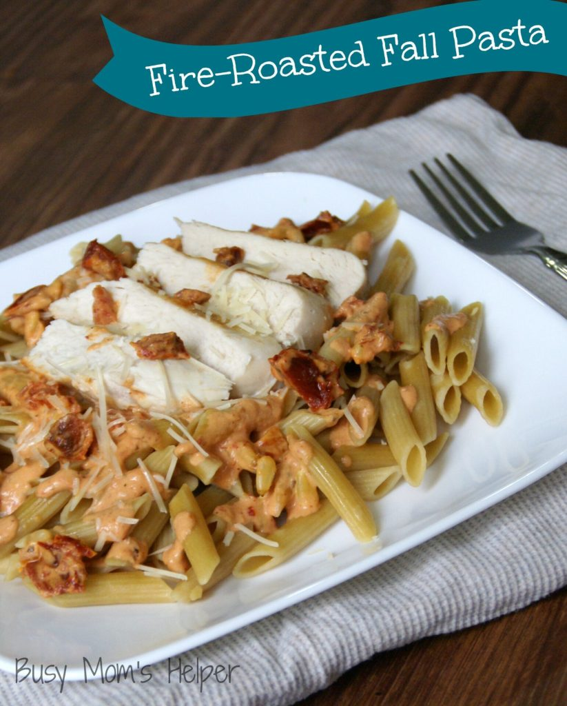 Fire-Roasted Fall Pasta / Busy Mom's Helper