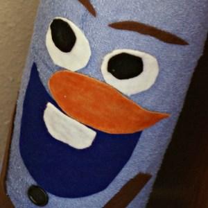 Disney's FROZEN Olaf Toilet Paper Holder / Busy Mom's Helper