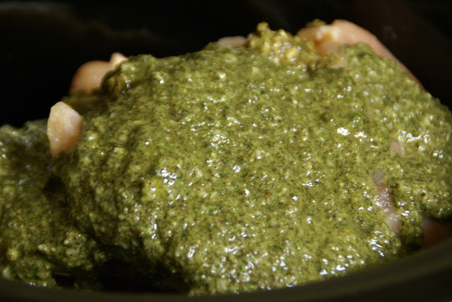 Easy Basil Pesto