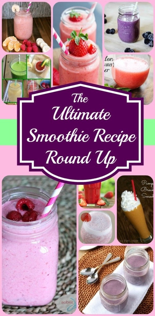 The Ultimate Smoothie Recipe Round Up / by www.BusyMomsHelper.com #smoothie #drink #fruit #veggie
