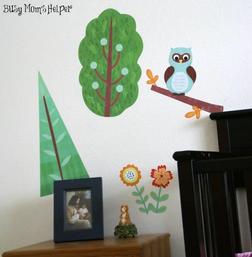 Wallternatives Wall Decals / review by www.BusyMomsHelper.com #Wallternatives #vinyldecor #fabricdecal #homedecor