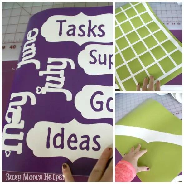 How I Organize My Blog Planning / by www.BusyMomsHelper.com #blogging #organization #dryerase #craftroom