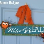 DIY Welcome Fall Sign / by Busy Mom's Helper #FallDecor #HomeDecor #Crafts