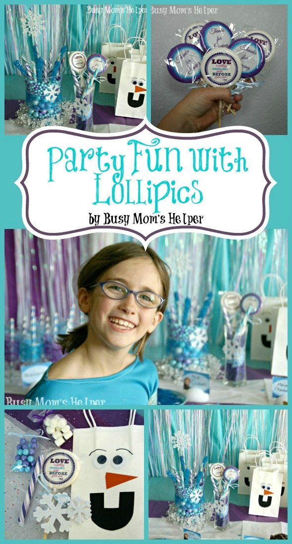 Party Fun with Lollipics / by Busy Mom's Helper #Lollipics #Frozen #Party #Printables