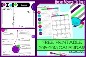 More Pages for Free Printable 2015 Planner / by Busy Mom's Helper #Planner #Printable #Calendar #HomeManagement