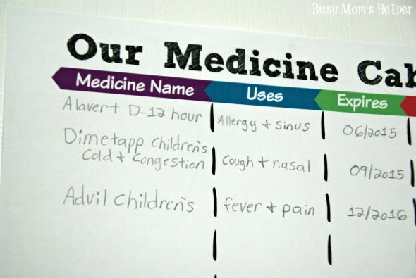 Stay Healthy This Winter: Free Printable Medicine Trackers / by Busy Mom's Helper #HealthySavings #Shop