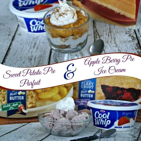 Apple Berry Pie Ice Cream / by Busy Mom's Helper #ThankfullySweet #Shop #MrsSmith #Pies #SweetPotatoePie #IceCream