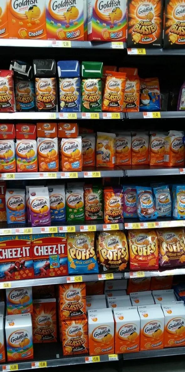 Cheesy Goldfish Snacks / by Busy Mom's Helper #GoldfishMix #CollectiveBias #ad #snacks