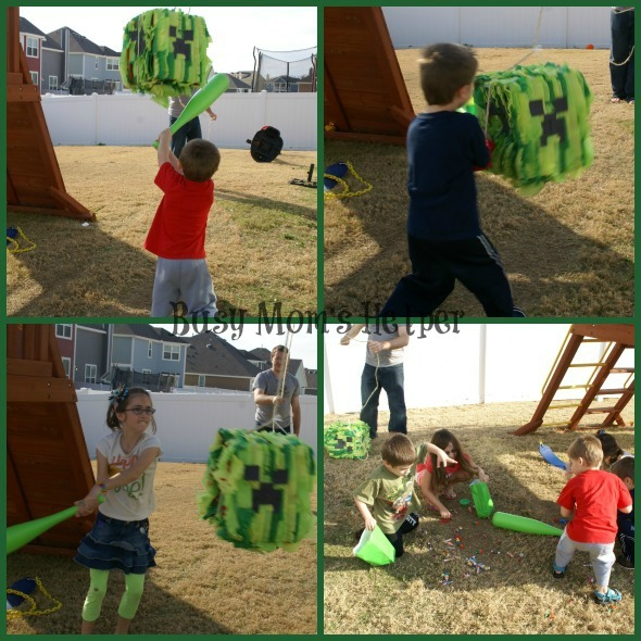 Make Your Own Minecraft Creeper Pinata / by Busy Mom's Helper #minecraft #pinata #party #craft