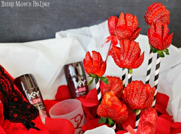 Strawberry Flower Date Night Basket / by Busy Mom's Helper #LoveOurVDay #ad @target