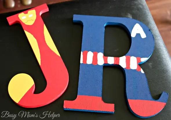 DIY Avenger Letters / by Busy Mom's Helper