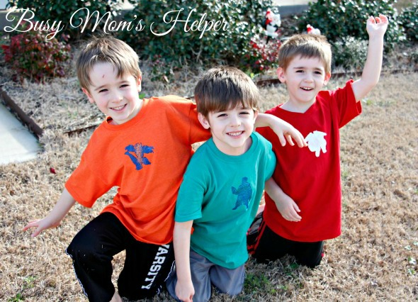 DIY Big Hero 6 Shirts / by Busy Mom's Helper / with Free Printable Stencil Pattern