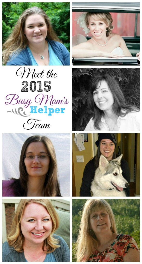Meet the 2015 Team for Busy Mom's Helper