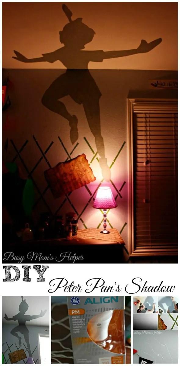 DIY Peter Pan's Shadow Nightlight