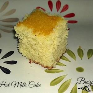 Hot Milk Cake by Nikki Christiansen for Busy Moms Helper