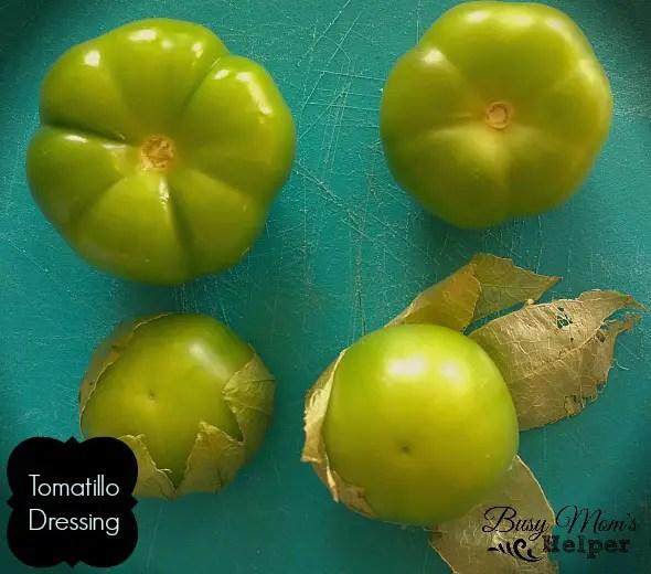 Tomatillo Dressing by Nikki Christiansen for Busy Mom's Helper