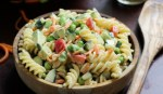 Picnic Perfect Pasta Salad l Steph in Thyme for Busy Mom's Helper