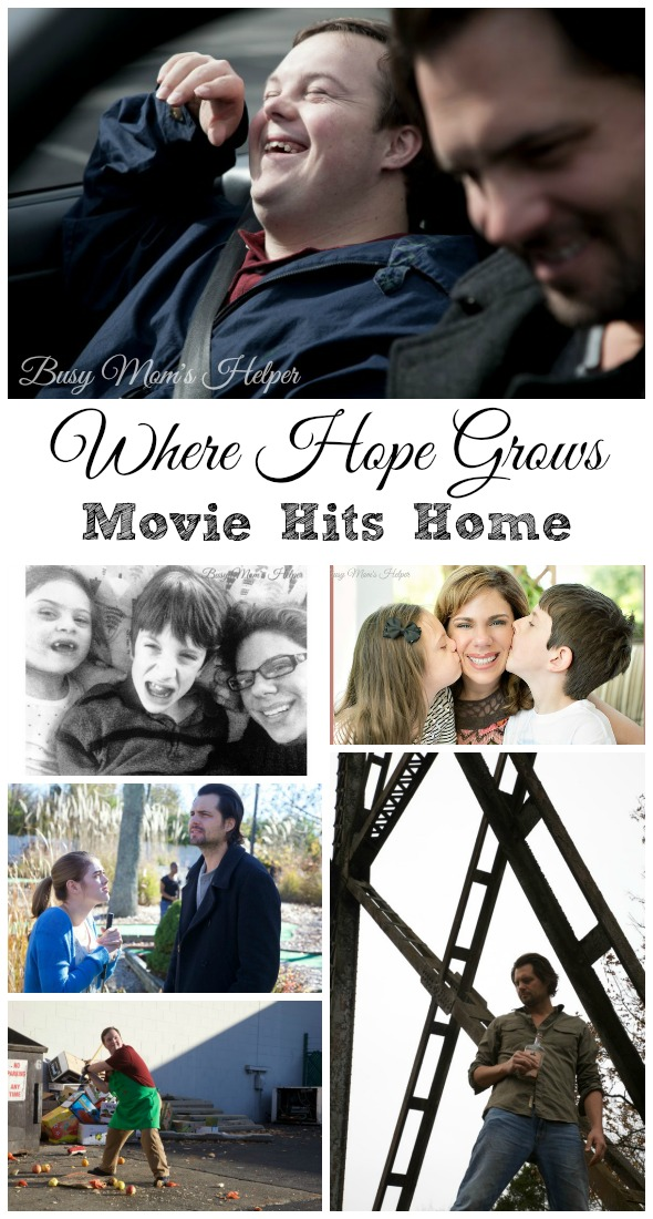 Where Hope Grows Movie Hits Home / by Busy Mom's Helper #wherehopegrowsmovie #Pmedia #ad