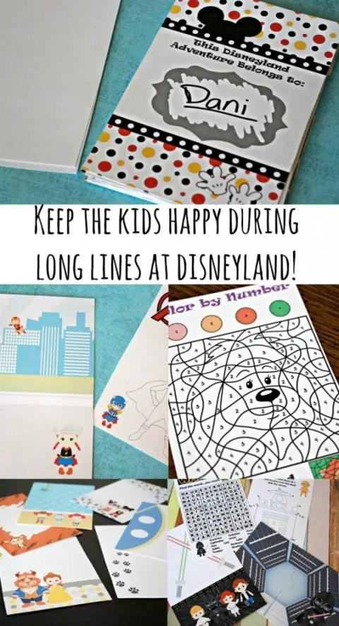 2016 'unofficial' Disneyland Activity & Autograph Book by BusyMomsHelper.com